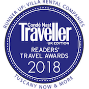 conde nast readers travel award 2018