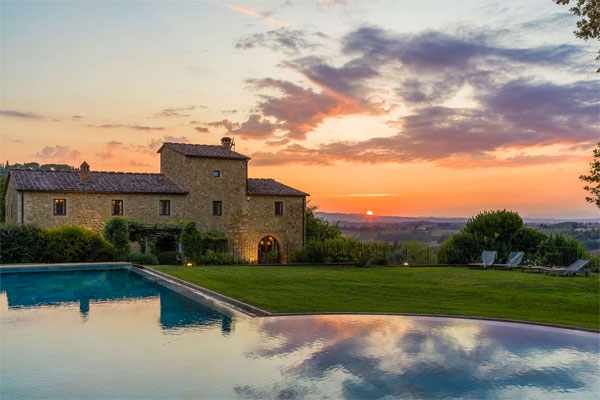 Podere Celli Luxury villa in Italy