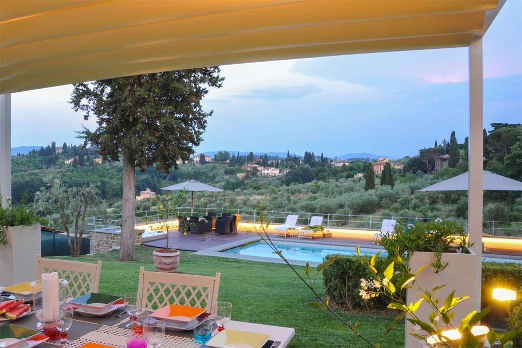 I Giullari Luxury villa near Florence