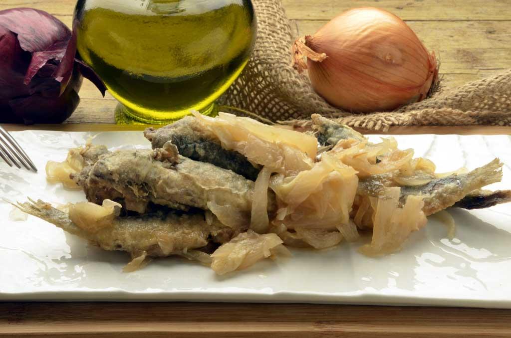 Sarde in saór, Venice food