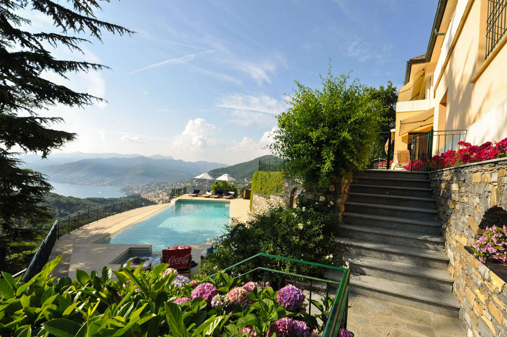 Bellaria, luxury villa near Portofino
