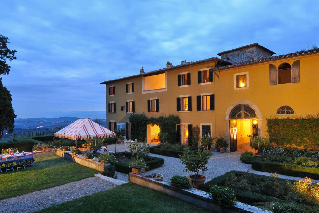 Castello di Tizzano Luxury villa near Florence