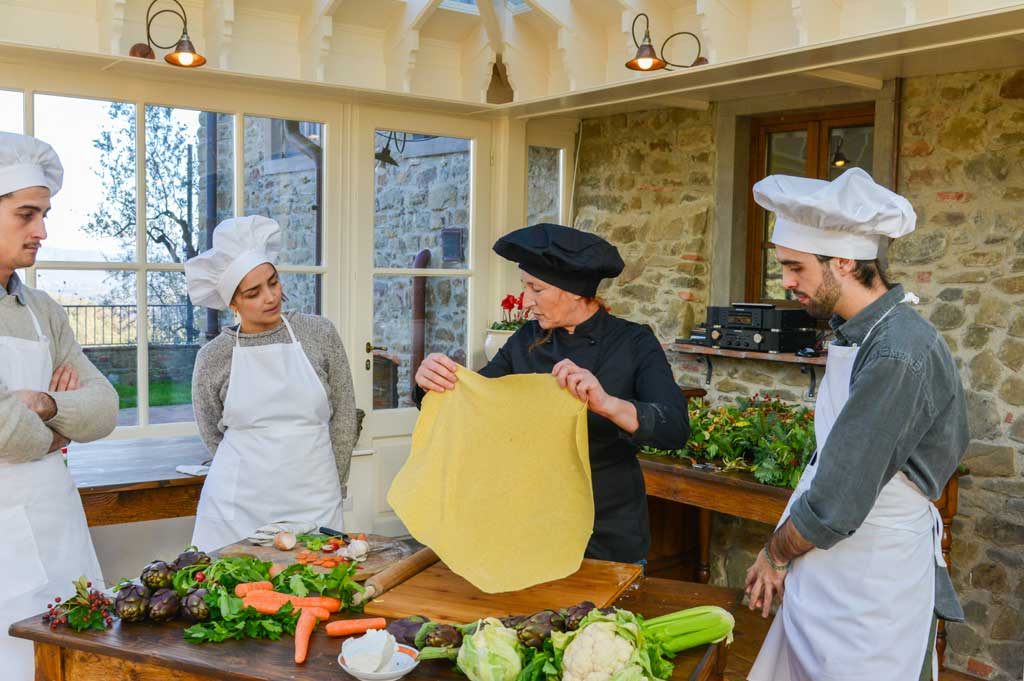 Cooking class at I Corbezzoli villa