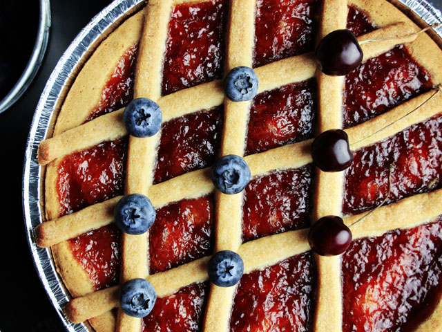 Crostata Raspberry