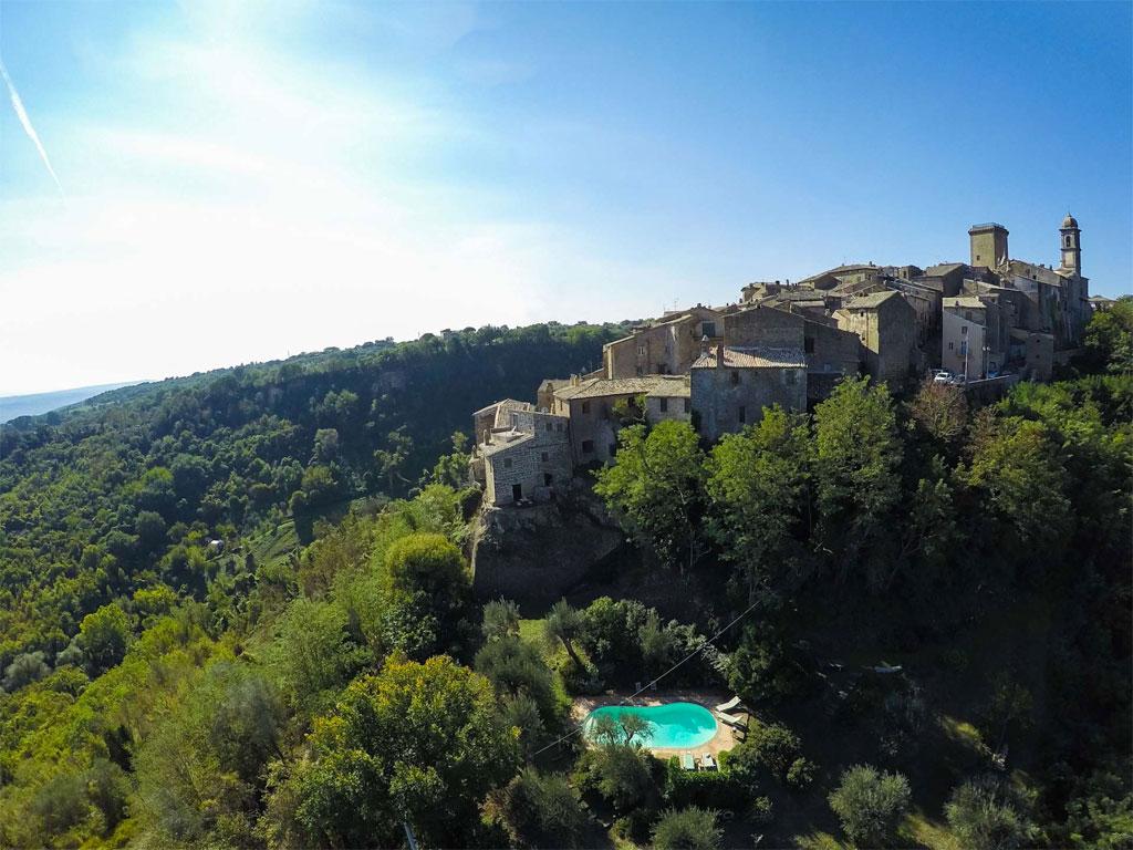 I Ruderi, villa near Orvieto