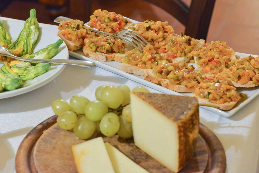 pecorino italian cheese snacking