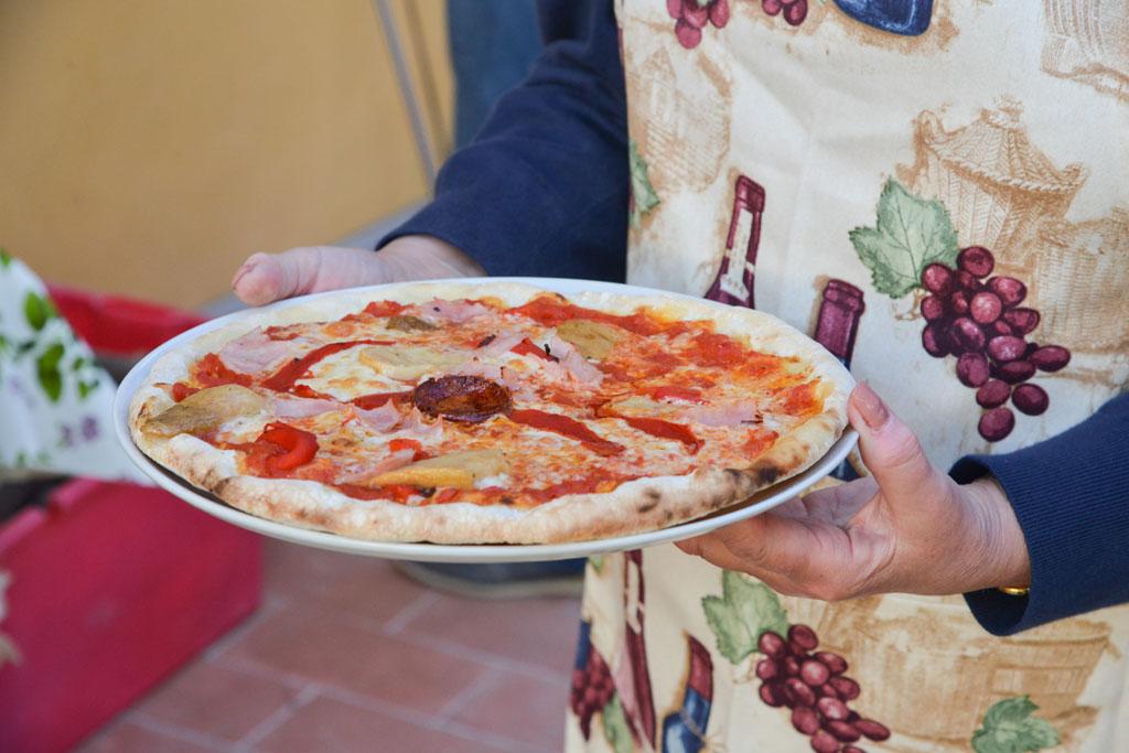 Italy food pizza