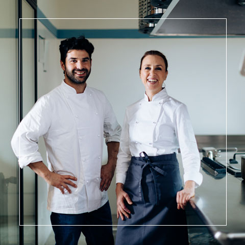 Chefs Laura & Gianluca