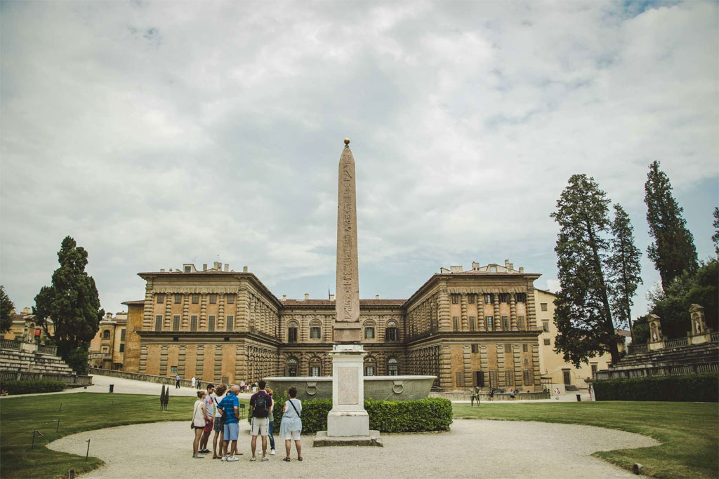 Pitti Palaca and Boboli Gardens