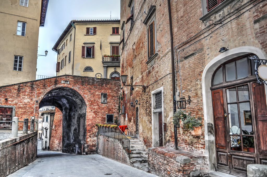 picturesque corner in San Miniato