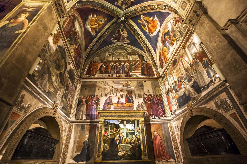 Santa Trinita church, Florence, Italy