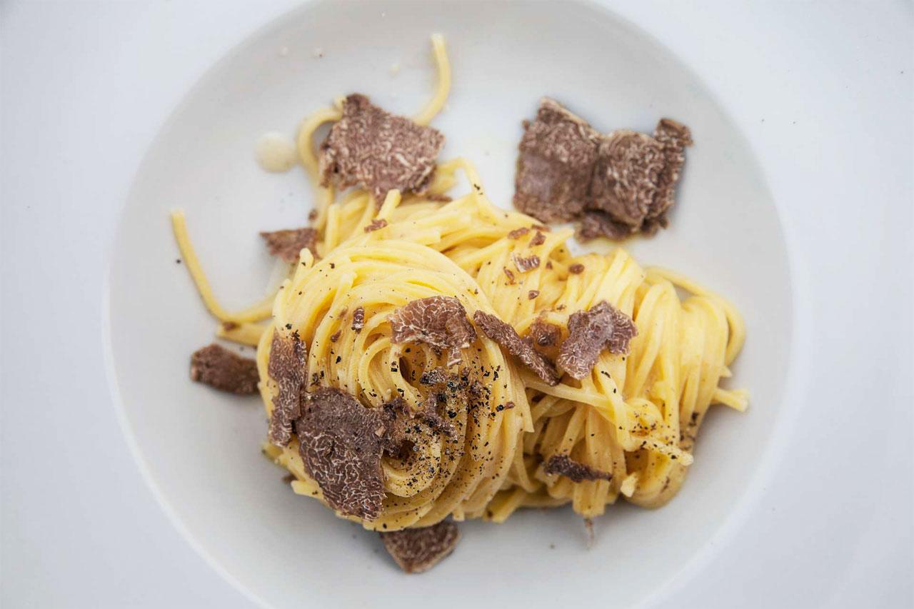 Truffles and pasta