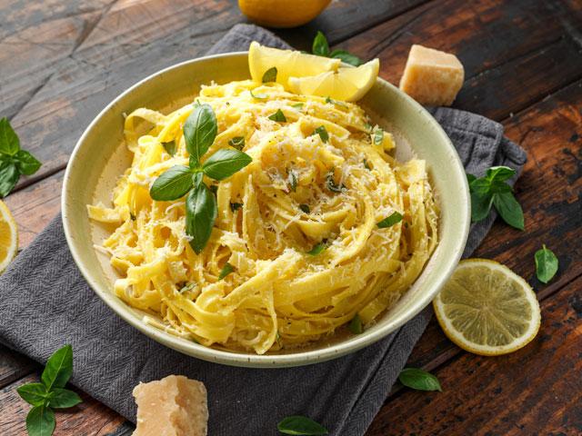 Spaghetti with Orange and Lemon Zest