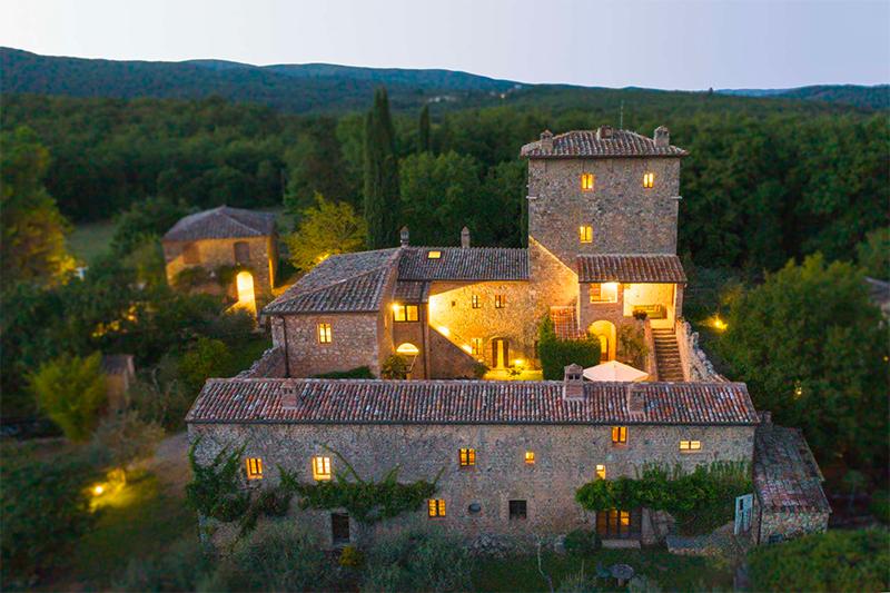 Torre Palazzone villa farmhouse