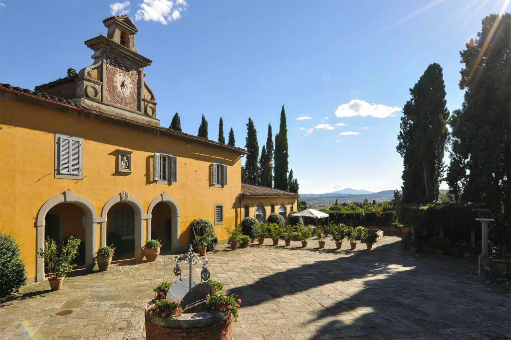 Vecchia Fattoria, luxury villa near Montepulciano