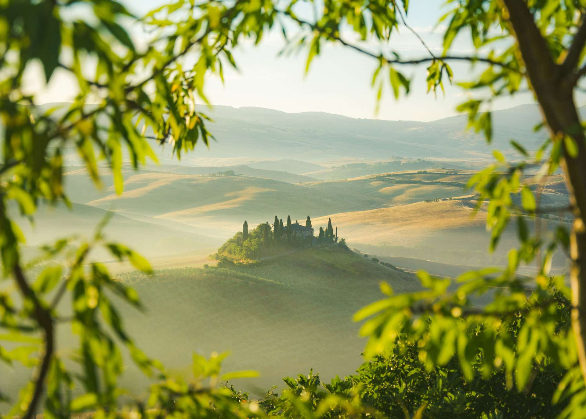 Visiting the Val d'Orcia
