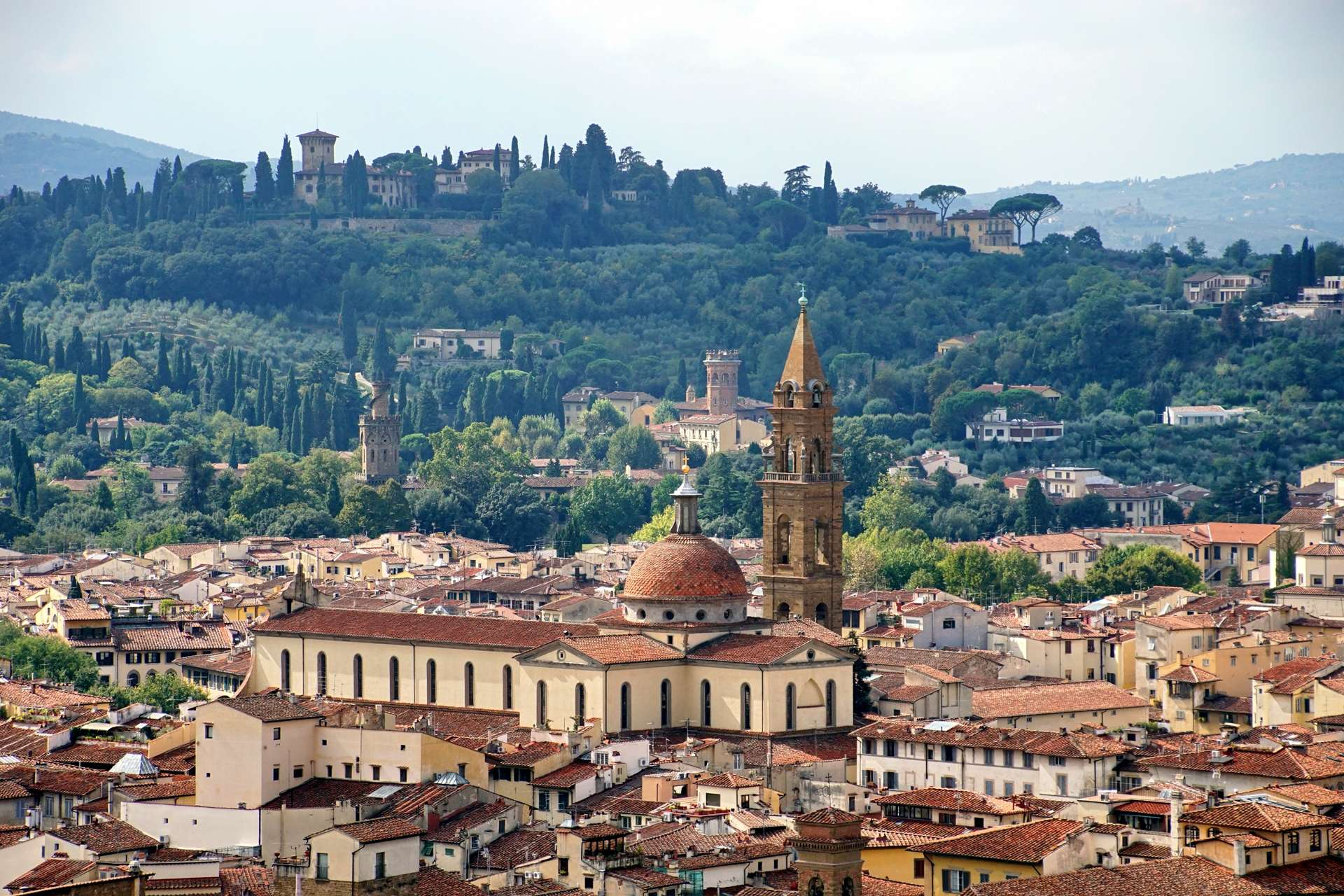 Visiting the Churches of Florence
