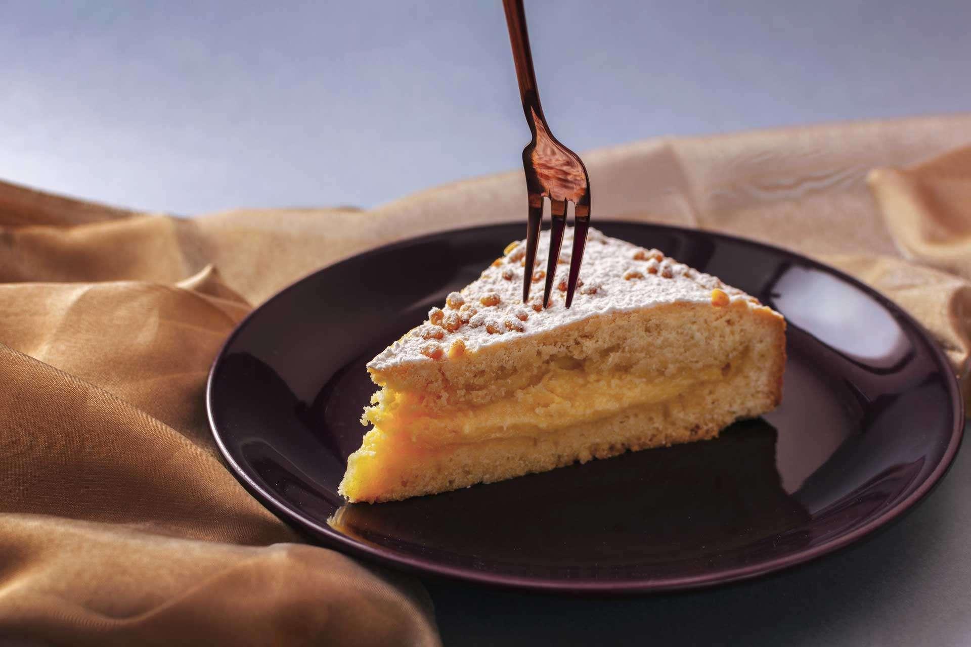 Torta della Nonna (Italian Custard Pie)