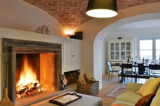 La Ciambella - Another view of the comfortable ground floor living area.