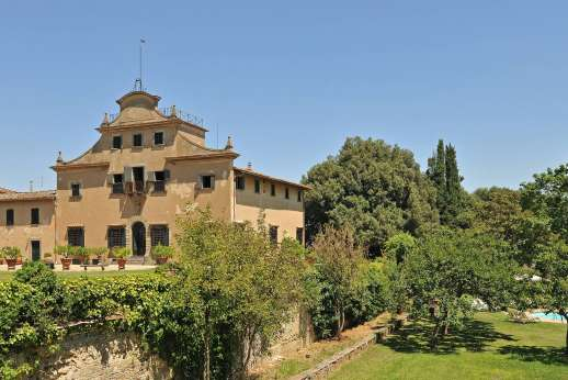 Villa di Bonorlo - Villa di Bonorlo manor house at the heart of a wine estate, Chianti, Tuscany.