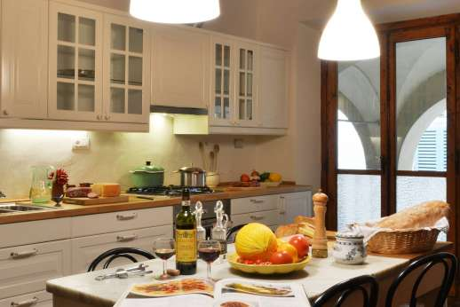 Villa di Bonorlo - The functional, modern kitchen.