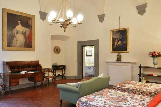Villa di Bonorlo - Alternative view of the twin bedroom on ground floor.