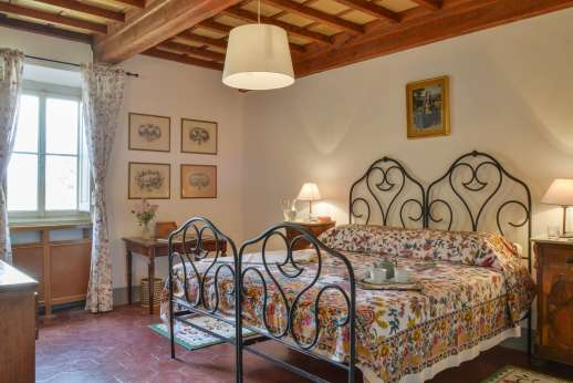 Villa di Bonorlo - One of the first floor bedrooms available from 2016