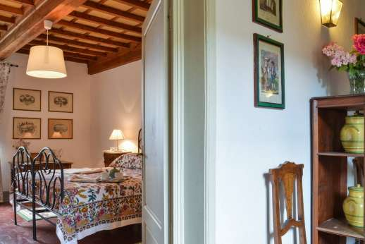 Villa di Bonorlo - View form the hallway to a first floor bedroom available from 2016