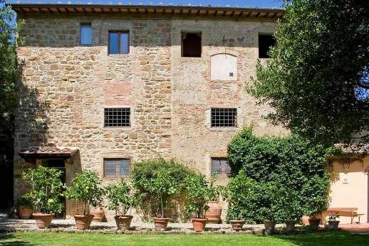 Casa Grazia - Casa Grazia, Barberino Val d'Elsa, around San Gimignano. Tuscany.