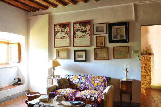 Casa Grazia - First floor sitting room.