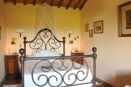 Casa Grazia - The second double bedroom.