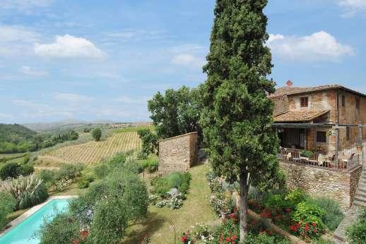 Il Giogo - Il Giogo,  Chianti Classico region, near the village of San Casciano in Val di Pesa.