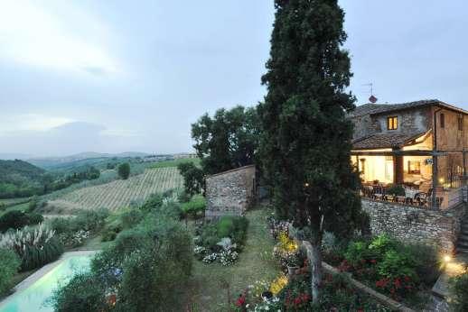 Il Giogo - Glorious views of the Chianti countryside at Il Giogo.