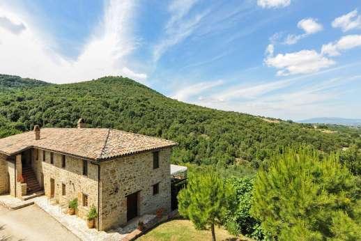 Il Nestorello - Il Nestorello, near Assisi. Umbria.