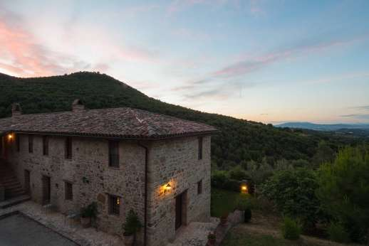 Il Nestorello - A beautiful sunset at Il Nestorello