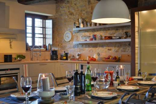 Il Nestorello - An extremely well equipped kitchen.
