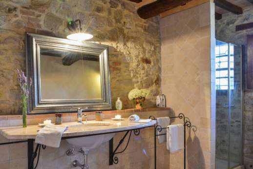 Il Nestorello - One of the en suite bathrooms.