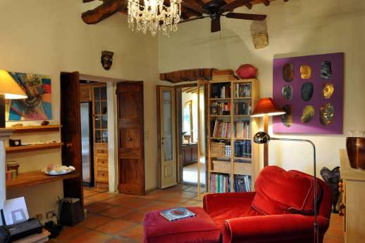 Il Trebbio - Study with an open fireplace.