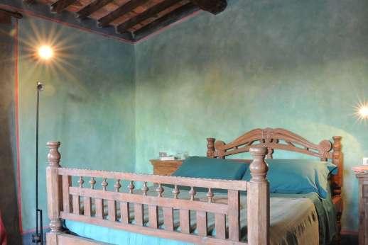 I Poggi  - Pool house first floor double bedroom