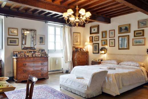 Villa di Citille - Second floor air-conditioned double bedroom