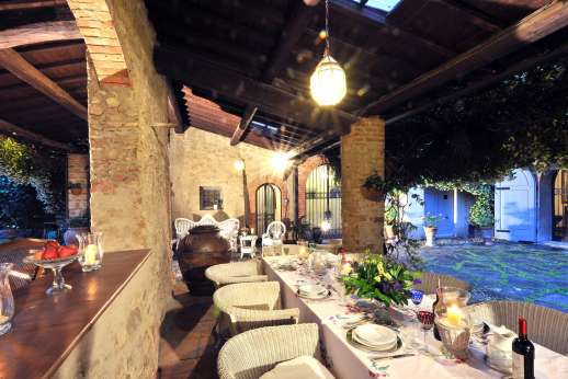 Villa di Citille - Take all your meal al fresco!