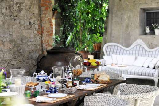 Villa di Citille - Cooks are available at the villa to prepare traditional Italian food