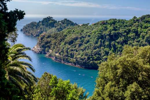 Villa Paraggi - Views over the Tuscan coastline