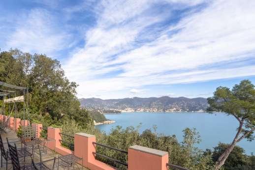 Villa Paraggi - View form the battlements