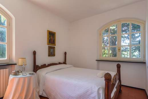 Villa Paraggi - View of the bed