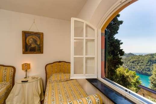 Villa Paraggi - View for the twin room