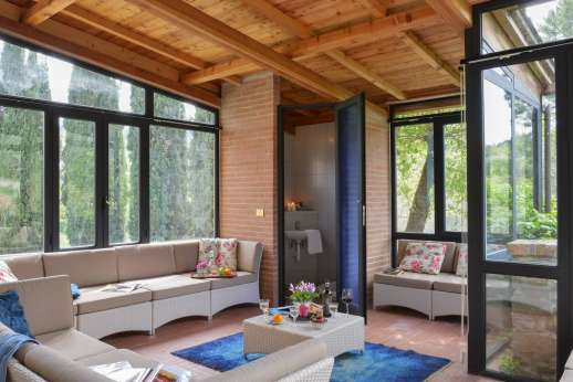 Tenuta il Poggio - Guesthouse sitting room
