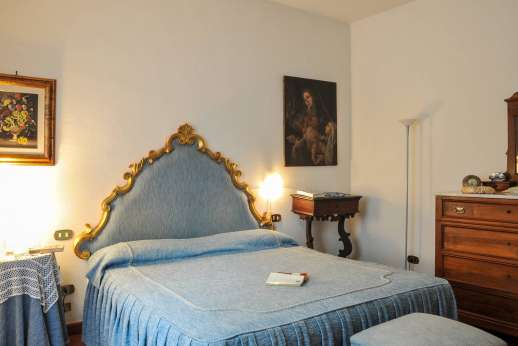 Villa Le Focaie - Air conditioned double bedroom.