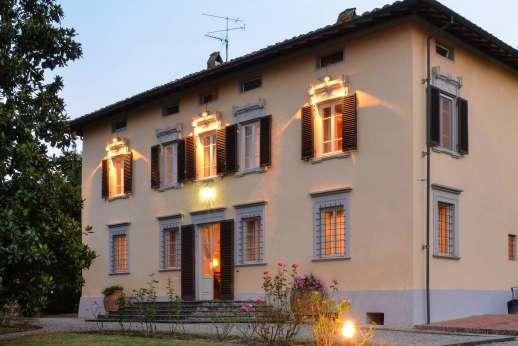 Villa Poggio ai Cipressi - Villa Poggo ai Cipressi near Lucca, Tuscany.