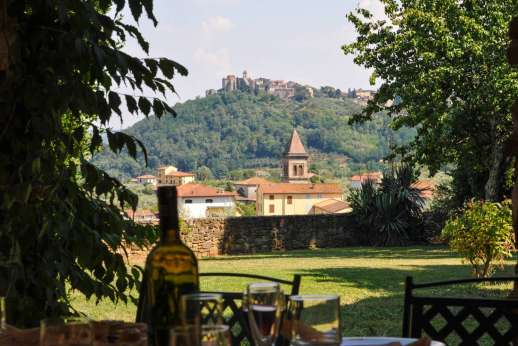 Villa Poggio ai Cipressi - Stunning views of typical Tuscan countryside.